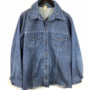 Other - Vintage Jean Jacket Size M/L